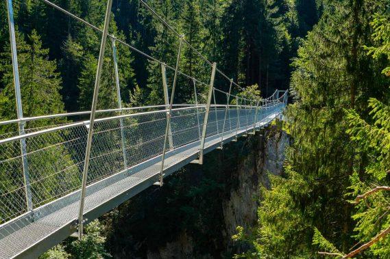 Hängebrücke Chessimätteli